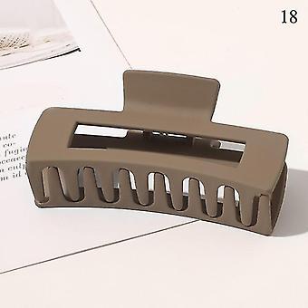 Nordisch inspiriertes Design umweltfreundliche Haarkrallenclips(18)
