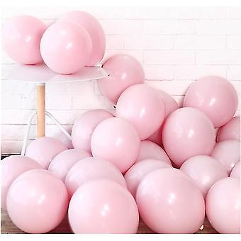 100pcs 10in Macaron Pastel Balloon For Birthday Party Wedding Decor Supplie