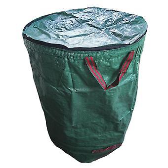 שקית גינון Silktaa עם מכסה מתקפל ושקית אשפה של דשא ועלה גינה