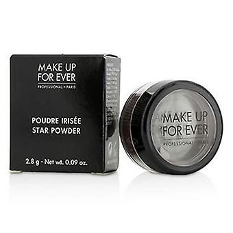 Make Up For Ever Star Powder - #955 (plum With Blue Highlights) - 2.8g/0.09oz