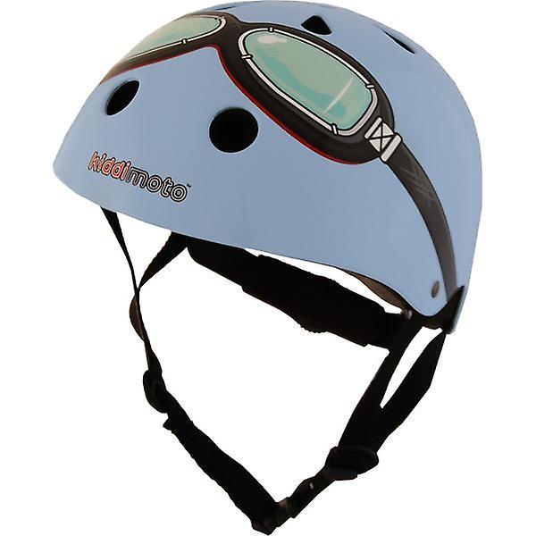 Kiddimoto Helmet - Blue Goggles