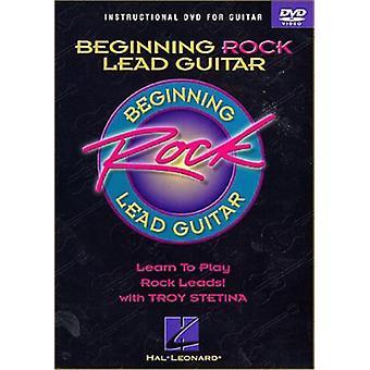 Débutant guitare Rock [DVD] USA import