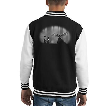 Wayward Souls Over The Garden Wall Limbo Kid's Varsity Jacket