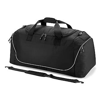 QUADRA team jumbo kit bag [black/grey]