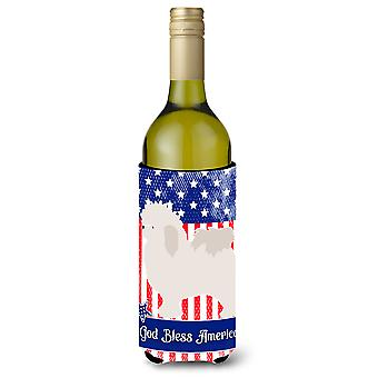 Bolognese American Wine Bottle Beverge Insulator Hugger