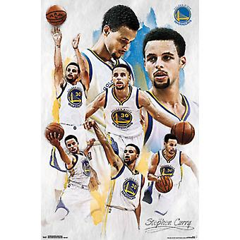 Golden State Warriors - Stephen Curry 15 Poster Print