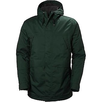 Helly Hansen Mens Harbour Water Repellant Breathable Parka Jacket Top