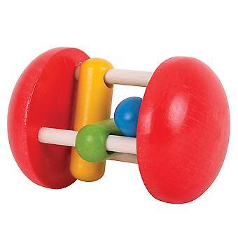 Bigjigs brinquedos de madeira Rainbow rolo sensorial bebê recém-nascido educacional