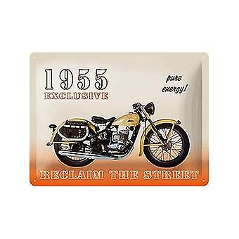 Harley 1955 Exclusive Large Embossed Metal Sign
