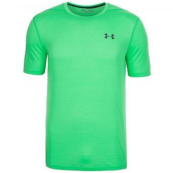 Sous blindage T-Shirt Threadborne hommes relief vert 1289589-299