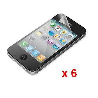 Apple iPhone 4G/4S Screen Protectors (6 Pack)