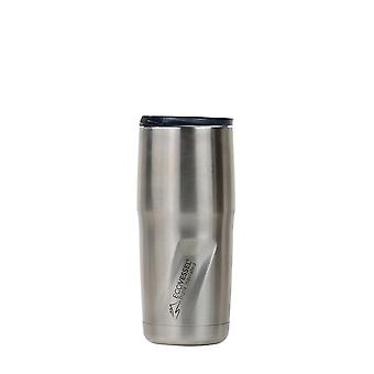 EcoVessel EcoVessel METRO TriMax Insulated Stainless Steel Tumbler - Silver Express Brushed 16 oz