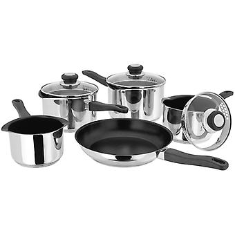Judge Vista, Non-Stick Draining 5 Piece Saucepan Set