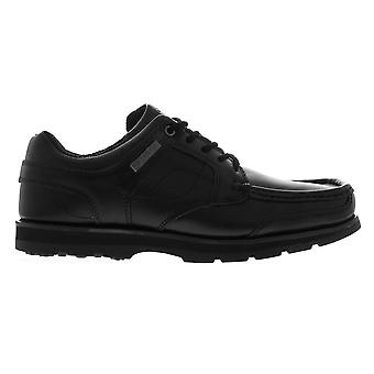 Kangol Mens Harrow Leather Eyelets Lace Up Shoes Moulded Sole Stitched Detail