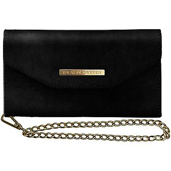 iDeal of Sweden Mayfair Clutch Velvet till iPhone 8/SE (2020) - Svart