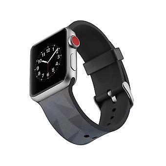 Silikone urrem til Apple Watch 4 44mm, 3/2/1 42mm-trekant