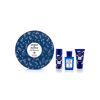 Acqua Di Parma Blu Mediterraneo Arancia Di Capri 3-piece set New In Box