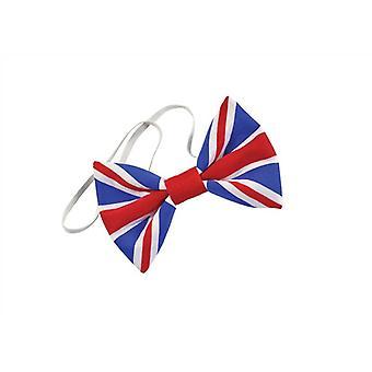Corbata de lazo de Union Jack.
