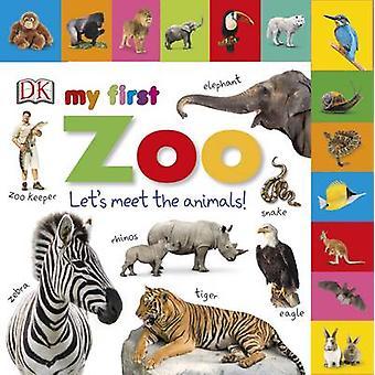 Placa com guias livros meu primeiro zoológico por DK - 9780241247105 livro