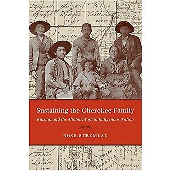 Opprettholde Cherokee familien