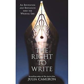 Rätten att skriva: en inbjudan och förtrogenhet med den skrivande liv