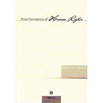 Três concepções de direitos humanos