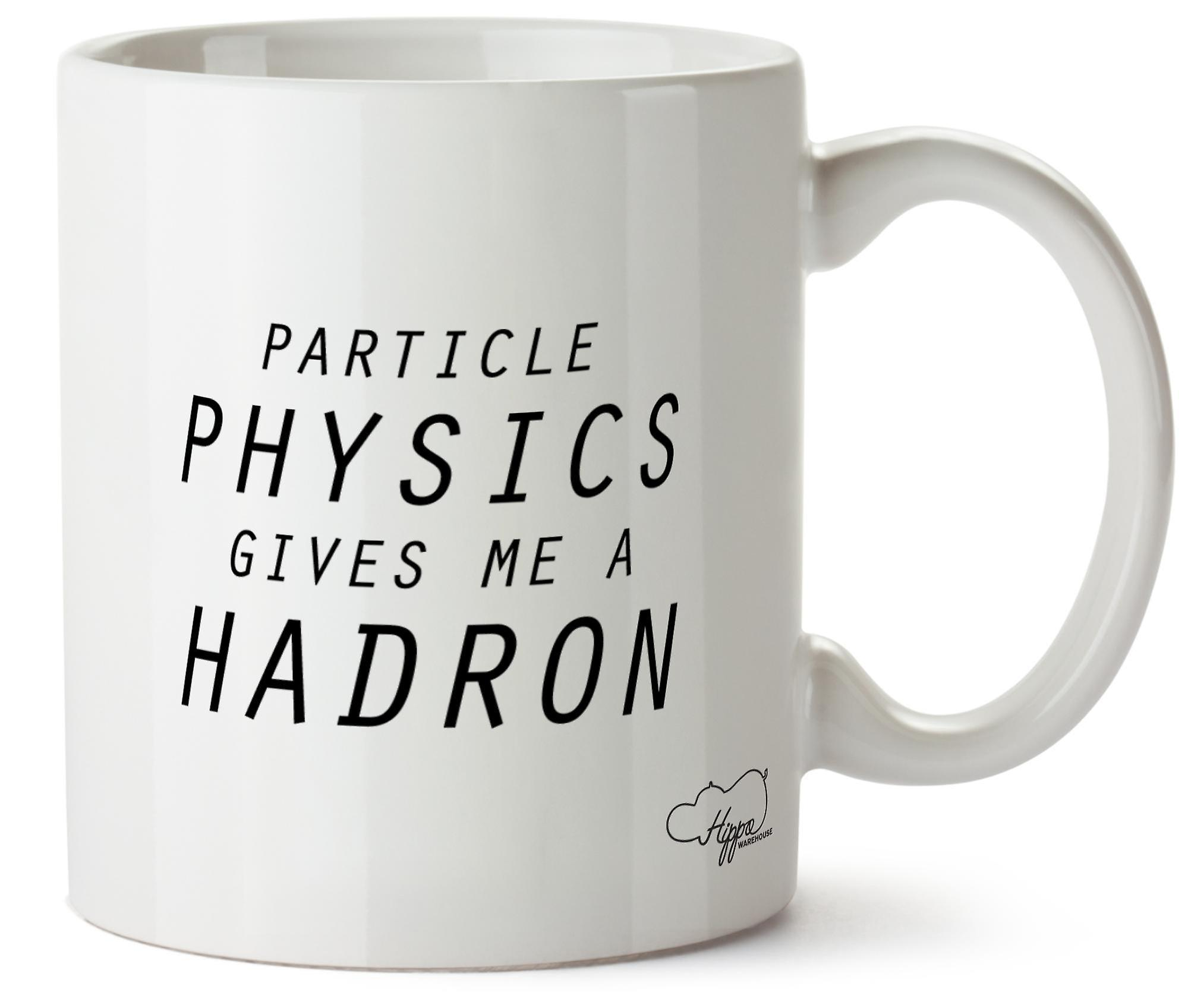 Физика элементарных частиц Hippowarehouse дает мне большой адронный 10oz кружка Кубок