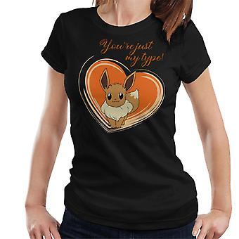Pokemon Love Eevee Women's T-Shirt