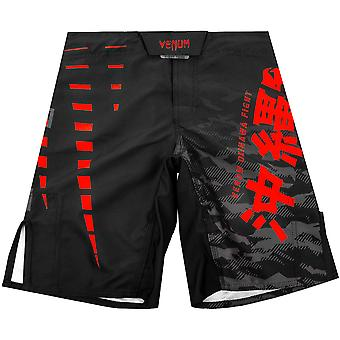 Venum Kids Okinawa 2.0 MMA Fight Shorts  - Black/Red