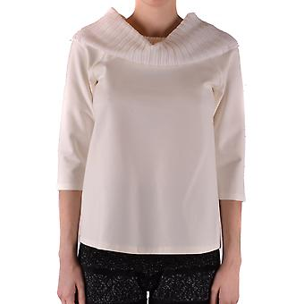 Twin-set Ezbc060168 Women's White Viscose Sweater