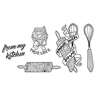 Spellbinders cuisine Collection timbre & jeu de mors (SDS-074)