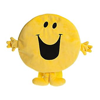Mr. Men Mr Happy Plush Character Backpack