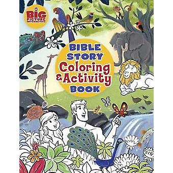 Bible story coloring and activity book - 9781462745166 Book