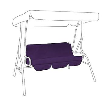 Gardenista® Purple Replacement Canopy für 3 Sitze Swing Seat