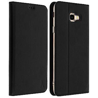 Akashi Galaxy J4 Plus Card Holder Case Silicone Stand Black