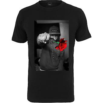 Mister Tee Shirt - PISTOLE ROSE black