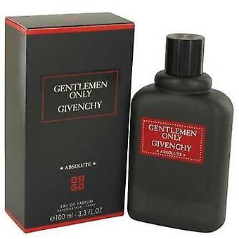 Gentlemen Only Absolute By Givenchy Eau De Parfum Spray 3.3 Oz (men) V728-534710