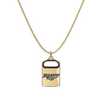 Talladega durante el collar en 14k diseño de oro amarillo por BIXLER