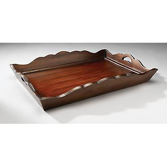 AA Importing 43554-WL Wooden Serving Tray