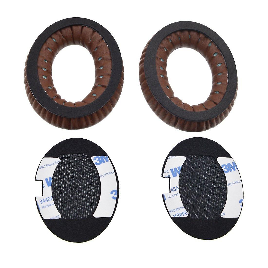 REYTID Replacement Dark Brown Ear Pad Cushion Kit Compatible with Bose Around Ear SoundTrue & AE2 Headphones