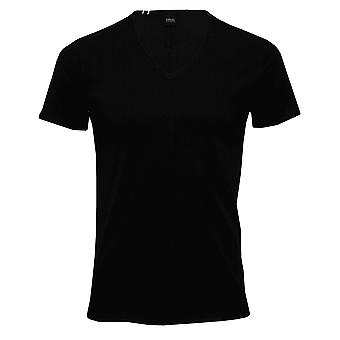 Replay Luxe V-Neck T-Shirt, Noir