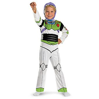Buzz Lightyear Classic Spaceman Disney Toy Story Toddler Boys Costume 3T-4T