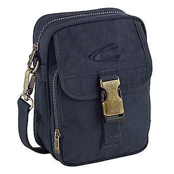 camel active Journey Bag Messenger 22 cm Blue (Dunkelblau)