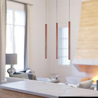 Canalis 3 Mini Pendant Lighting Copper