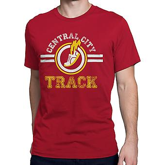 Central City Track Mężczyźni's T-Shirt
