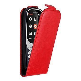 Cadorabo tilfældet for Nokia 3310 sag Cover-telefon tilfældet i flip design med magnetisk lukning-sag Cover sag case sag bog folde stil