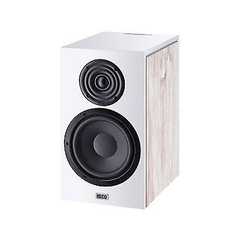 HECO Aurora 300, diffusore da scaffale, bass reflex a 2 vie, bianco, 1 paio