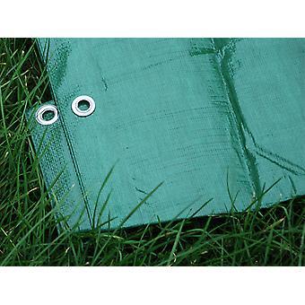 Afdekzeil 6x8m, PE 150g/m², Groen