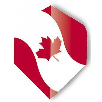 Unicorn Darts Maestro.100 World Flags Plus Flights Ultra Durable - Canada