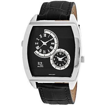 Roberto Bianci Men's Benzo Black Dial Uhr - RB0741